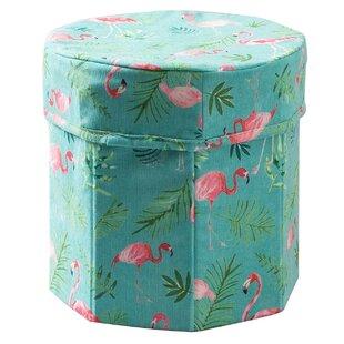 Price Check Kids Fun Ottoman Fabric Storage Bin (Set of 2) ByHarriet Bee