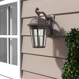 Coupon Goodrich 1-Light Outdoor Wall Lantern By Alcott Hill