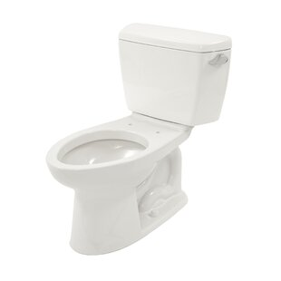 Drake Eco 1.28 GPF Elongated Two-Piece Toilet (Seat Not Included) ByToto