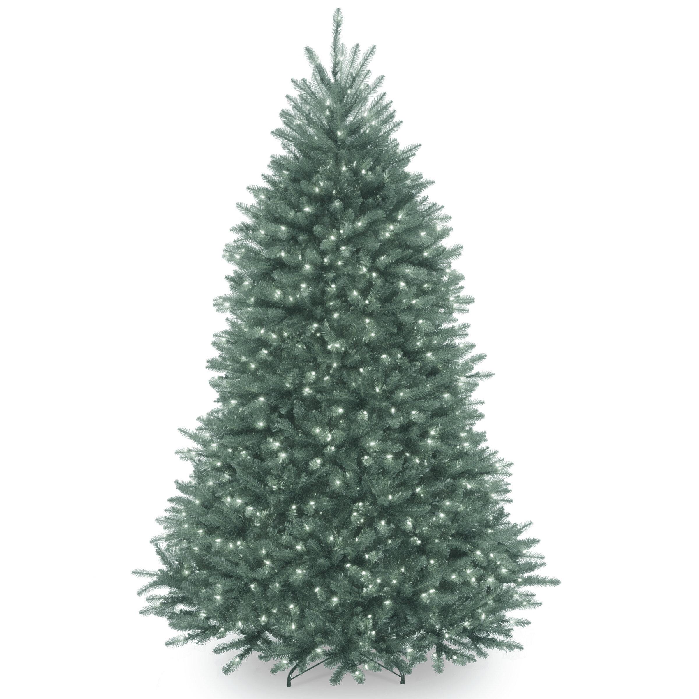 Artificial Christmas Tree Branches.Green Fir Artificial Christmas Tree With Clear Lights With Stand