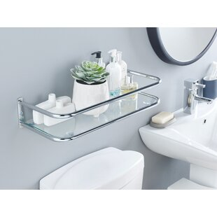 50 X 10cm Over The Toilet Shelf By Symple Stuff