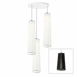 Solis 3-Light Cylinder Pendant by Pablo Designs