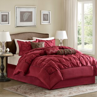 Red Bedroom Set. Benjamin 7 Piece Comforter Set Red Bedding Sets You ll Love  Wayfair