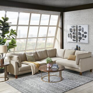 Alford Right Hand Facing Sectional by Brayden Studio SKU:DA936456 Guide