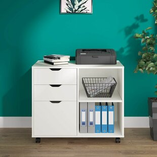 White Wood Filing Cabinets You Ll Love In 2021 Wayfair