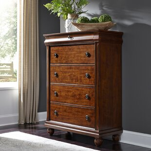 Oreana 5 Drawer Chest by Three Posts