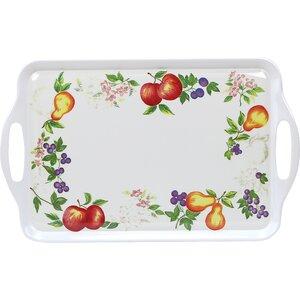 Impressions Chutney Melamine Rectangular Serving Platter