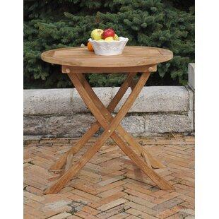 Bullock Folding Solid Wood Dining Table b..