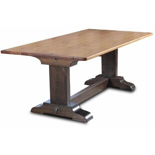 Trestle Dining Table by Vintage Flooring ..