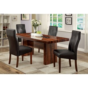 Carroll 5 Piece Dining Set Hokku Designs