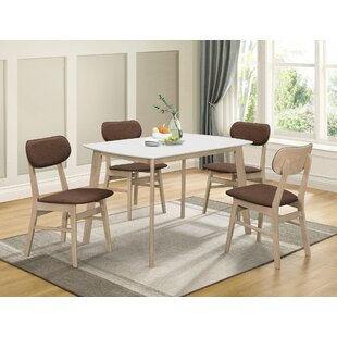 Barela 5 Pieces Dining Set by Wrought Studio