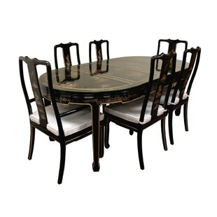 7 Piece Dining Set Oriental Furniture
