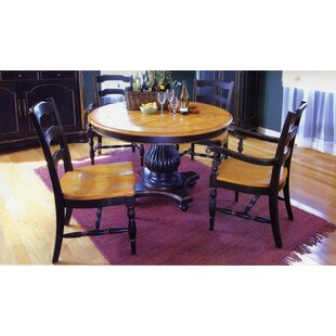 Spinella Solid Wood Dining Table Bay Isle Home