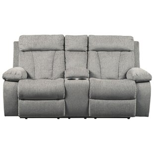 Red Barrel Studio Evelina Reclining Loveseat with Console