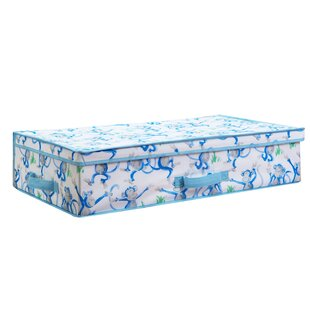 Fabric Cheeky Monkey Under The Bed Storage By Laura Ashley