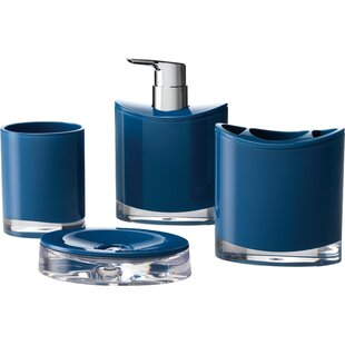 Modern Contemporary Navy Blue Bathroom Accessories Allmodern