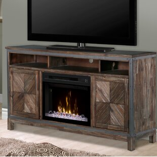 Wyatt TV Stand for TVs up to 70 with Fireplace by Dimplex