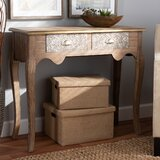 Robbyn 36 Console Table by Bungalow Rose