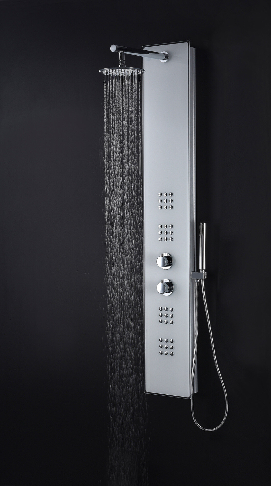 Anzzi Veld Series 64 Shower Panel With Adjustable Shower Head Perigold