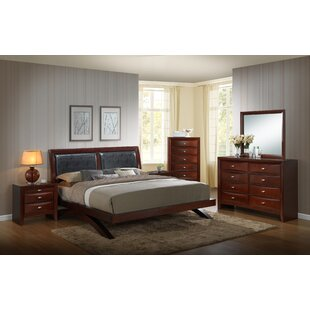 Alidge Platform 5 Piece Bedroom Set