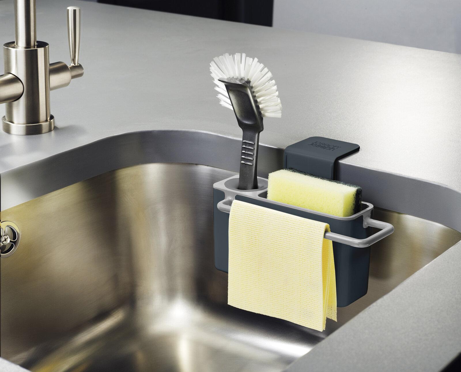 Joseph Joseph Sink Aid Self Draining Sink Caddy U0026 Reviews | Wayfair