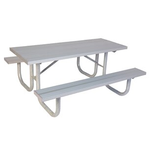 Extra Heavy Duty Aluminum Picnic Table
