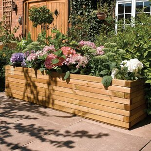 European Pine Wood Planter Box