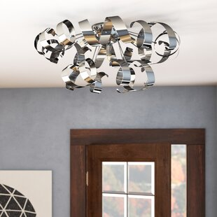 Wade Logan Juliet 5-Light Flush Mount