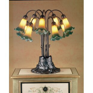 Best Choices Victorian Pond Lily 10-Light 22 Table Lamp By Meyda Tiffany