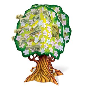 3 D Baby Shower Money Tree Paper Disposable Centerpiece