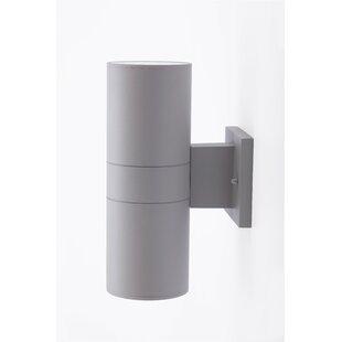 Barksdale 2-Light LED Outdoor Sconce by Ebern Designs