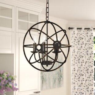 Gracie Oaks Leung 5-Light Pendant