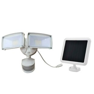 LED Solar Power Dusk to Dawn Outdoor Security Flood Light with Motion Sensor