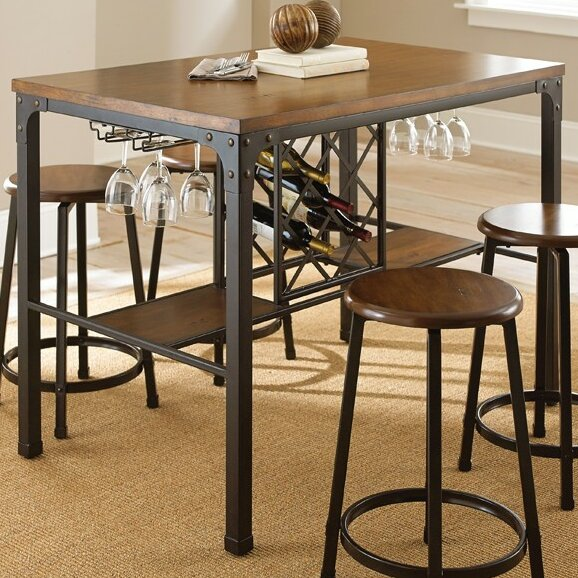 trent austin design woodside pub table reviews wayfair