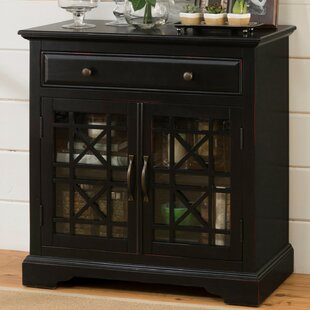 Hedley Wooden 2 Door Accent Cabinet by Highland Dunes