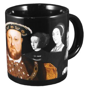 Disappearing Wives of Henry VIII Heat Reactive Mug
