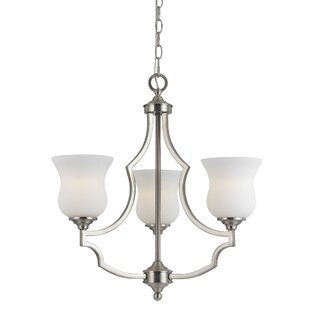 Darby Home Co Juliette 3-Light Shaded Chandelier