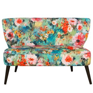 Kaia Armless Settee by Ivy Bronx Reviews