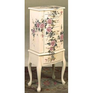 Carel Free Standing Jewelry Armoire by Rosalind Wheeler