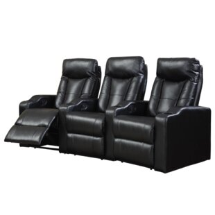 Latitude Run Home Theater Row Seating (Row of 3) (Set of 3)