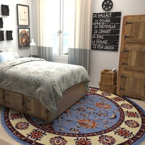 Fairmount Blue Area Rug