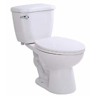 ANZZI Author 1.28 GPF (Water Efficient) Elongated Two-Piece Toilet (Seat Included)