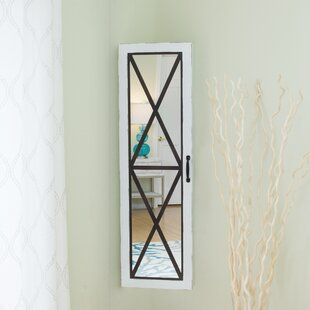 Olympia Over The Door Jewelry Armoire with Mirror by Gracie Oaks