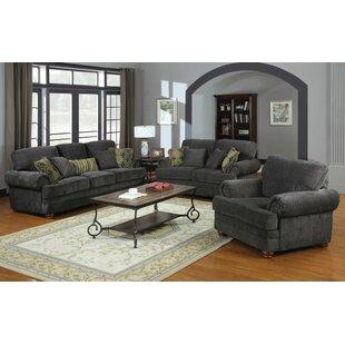 Fleur De Lis Living Bigelow 3 Piece Living Room Set