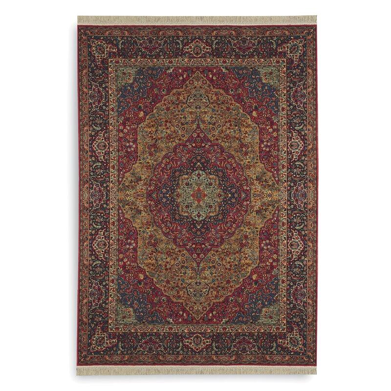 Karastan Oriental Wool Red Brown Area