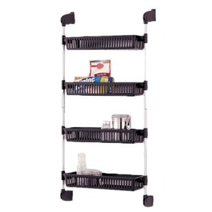 Organize It All 4 Basket Over The Door Storage Unit