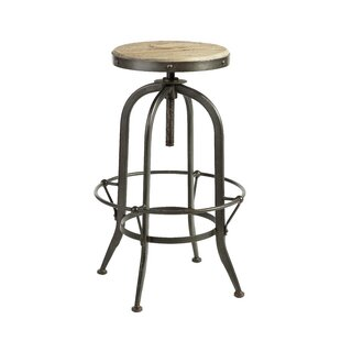 Daniels Height Adjustable Swivel Bar Stool By Williston Forge