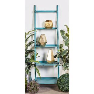 Cole & Grey Ladder Bookcase