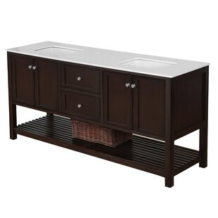 Shopping for Chertsey Open Cabinet 72 Double Bathroom Vanity Set ByThree Posts