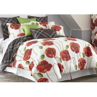Latitude Run Silvy Reversible Comforter Set